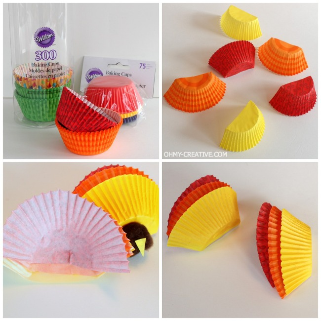 Kids thanksgiving turkey craft oh my creative for Creative crafts to do