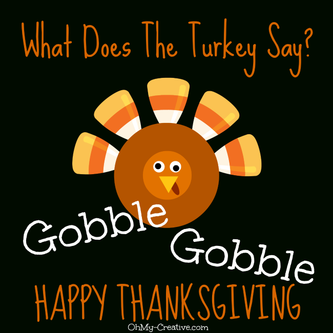 Happy Thanksgiving Turkey animated