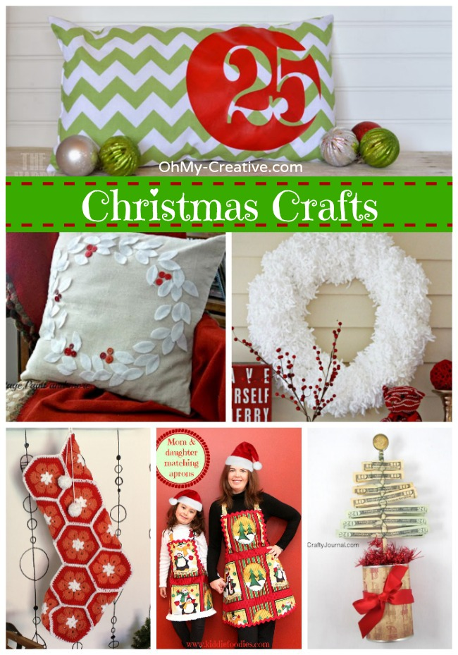 Christmas Crafts - OhMy-Creative.com