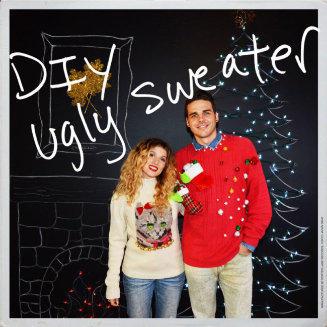 Homemade ugly christmas sweater party ideas images 2017