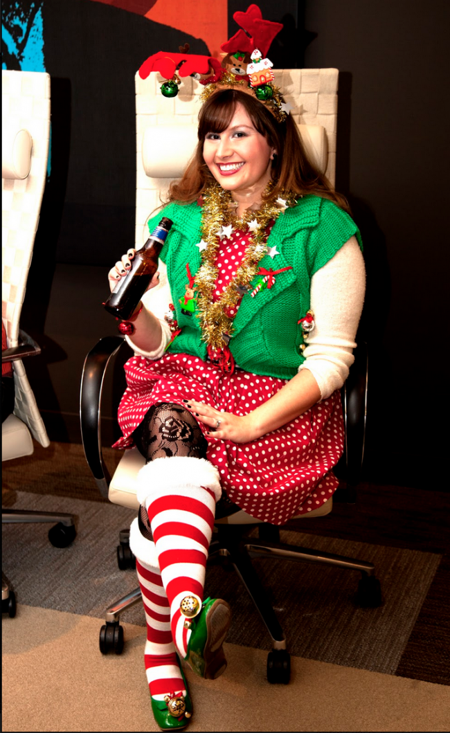 Creative ugly christmas sweaters
