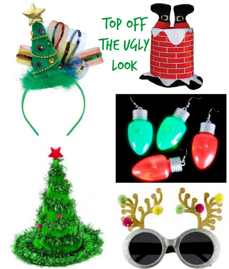 Hilarious Ugly Sweater Party Accessories | OHMY-CREATIVE.COM
