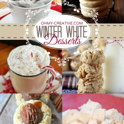 Winter White Desserts