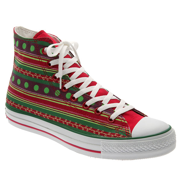 Ugly Christmas Sweater high top