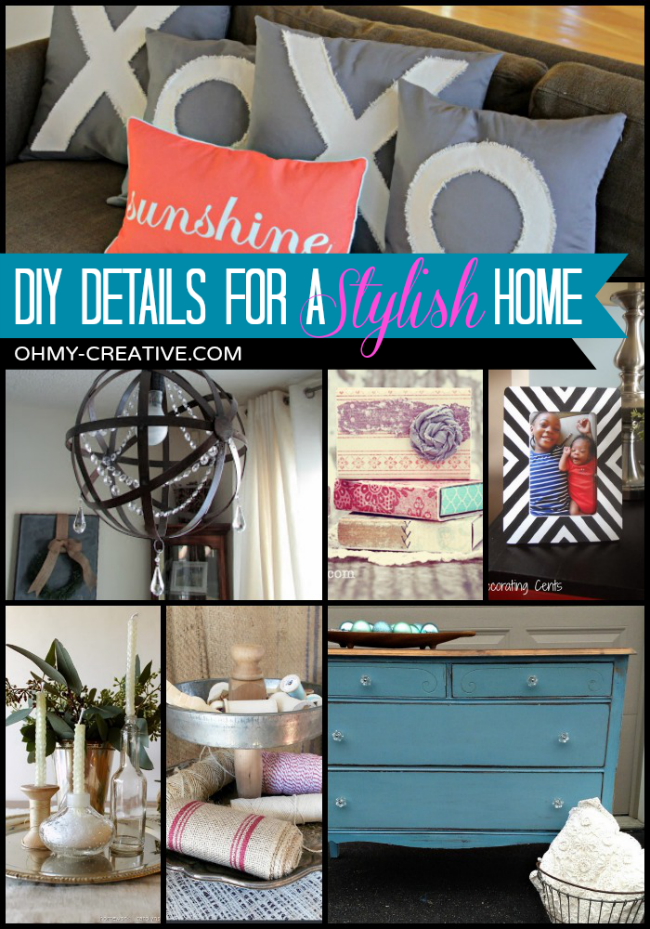 DIY Details For A Stylish Home | OHMY-CREATIVE.COM