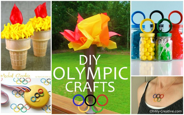 DIY Olympic Crafts And Party Ideas