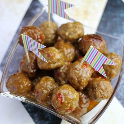 Thai Meatball Mania Appetizer