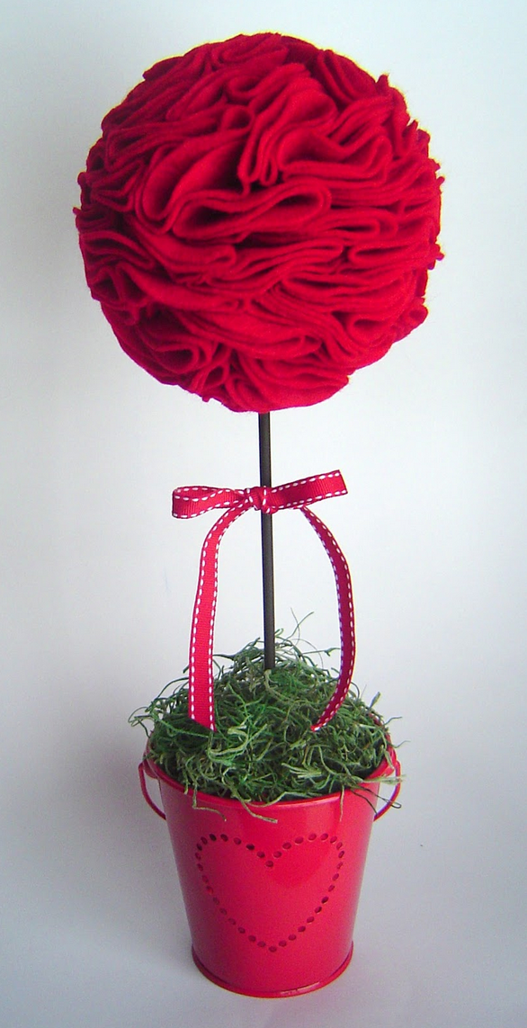 Valentine's Day Topiary