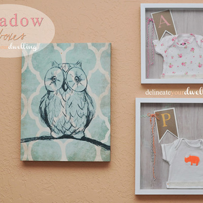 Kid's Room Shadow Boxes