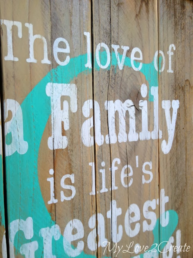 Love Quote Picture Frames Mesmerizing Diy Monogram Frame With Family Quote  Oh My Creative