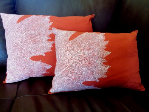 Pillows Made From Placemats