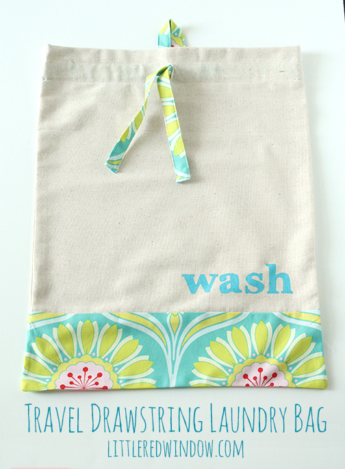 Travel Drawstring Laundry Bag