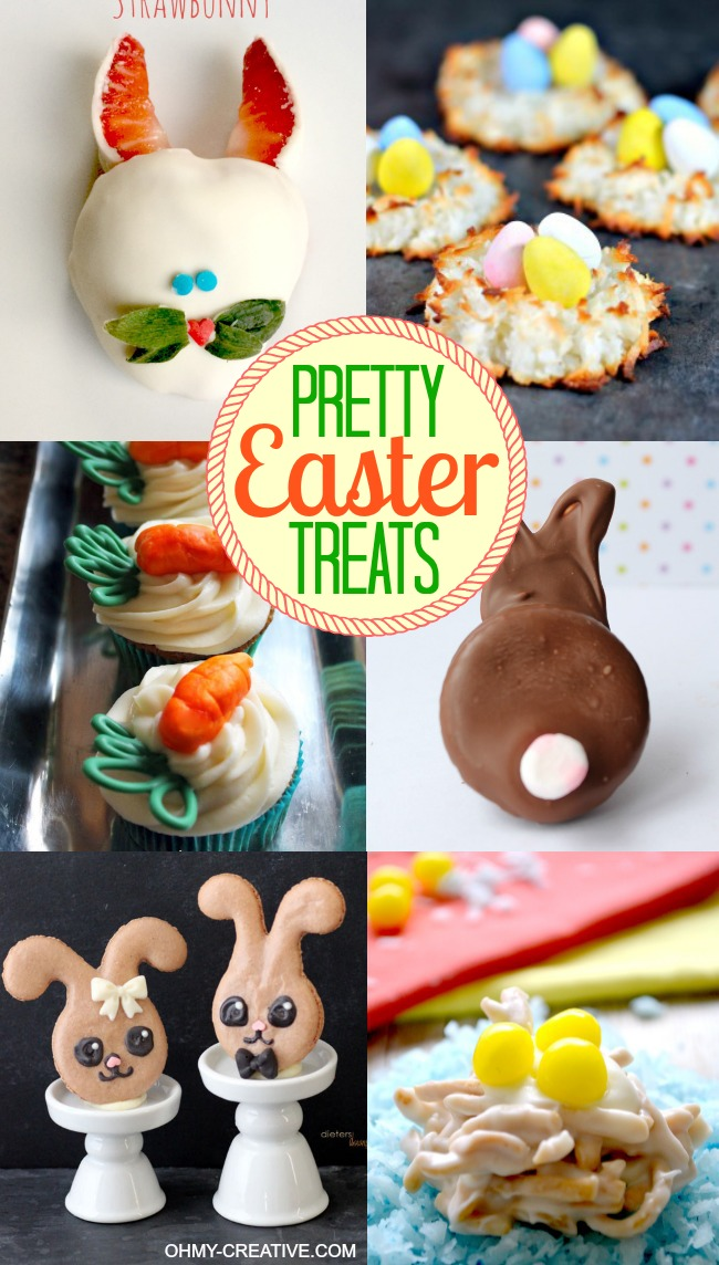 Pretty Easter Treats | OHMY-CREATIVE.COM