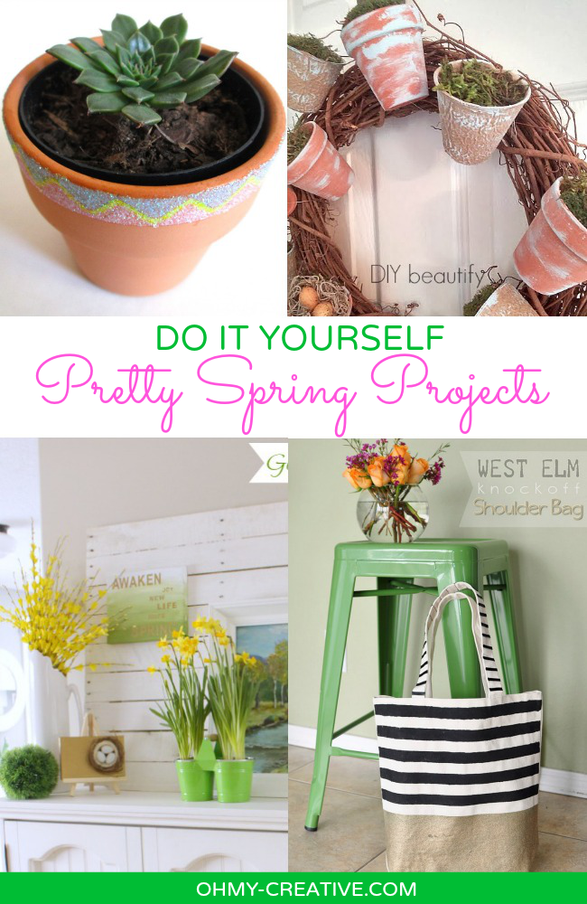 Do It Yourself Pretty Spring Projects