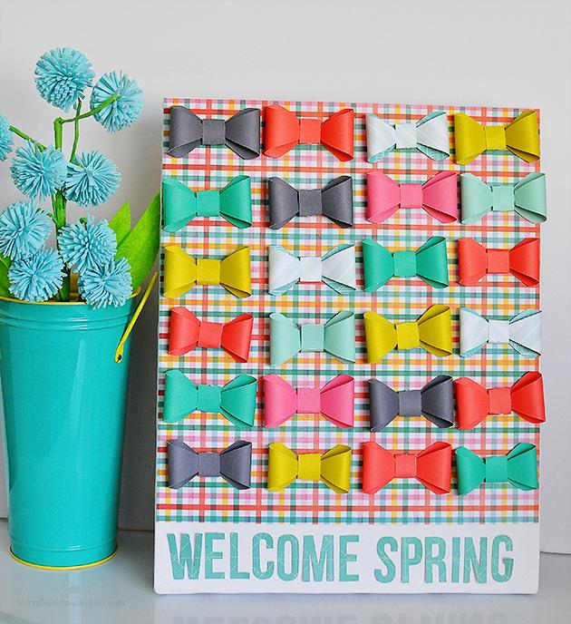 welcome spring Sign 30daysblog