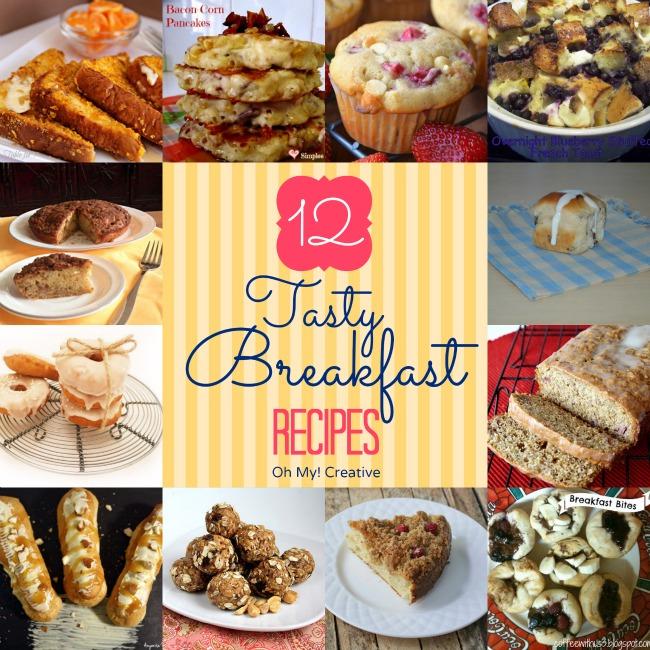 12 Tasty Breakfast Recipes     Oh-My-Creative