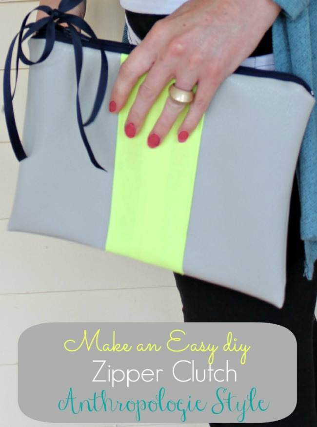 Anthropologie Inspired Clutch | Oh My Creative