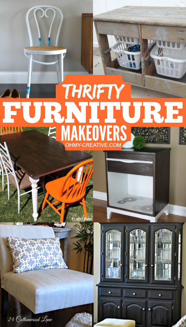 22 Gorgeous Goodwill Makeover Projects - Oh My Creative
