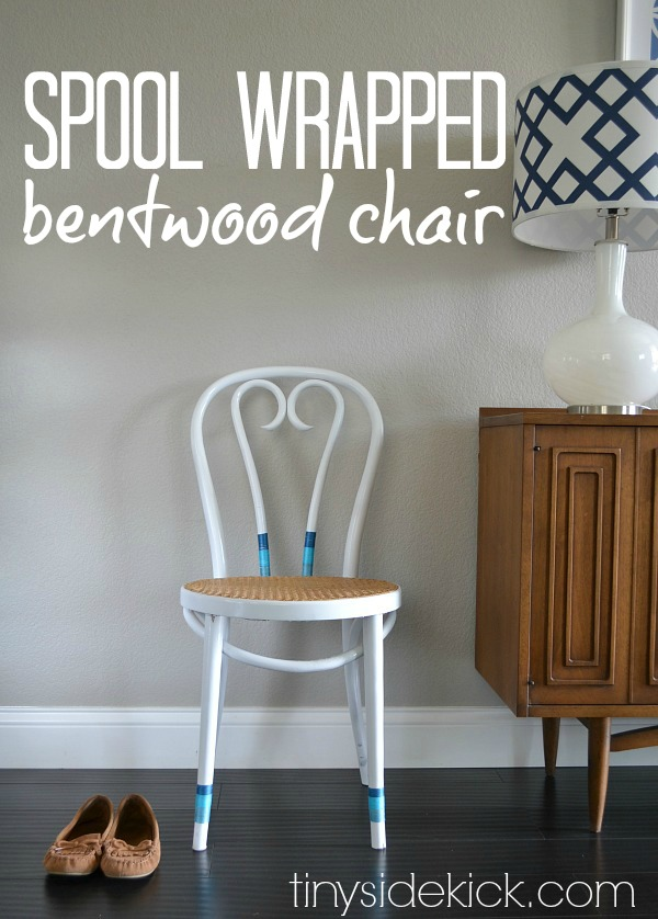 spool-wrapped-bentwood-chair