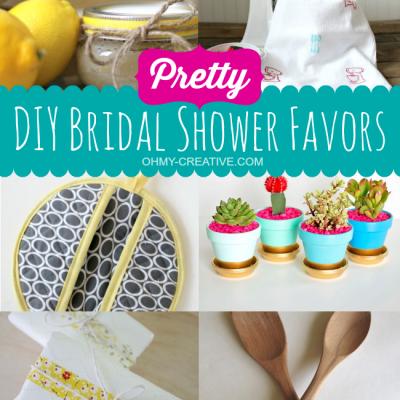 Pretty DIY Bridal Shower Favors
