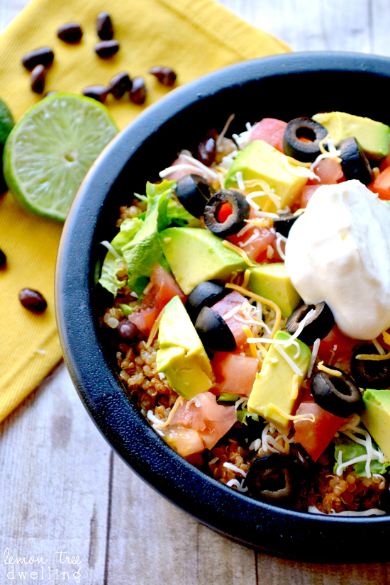 Quinoa Taco Bowl