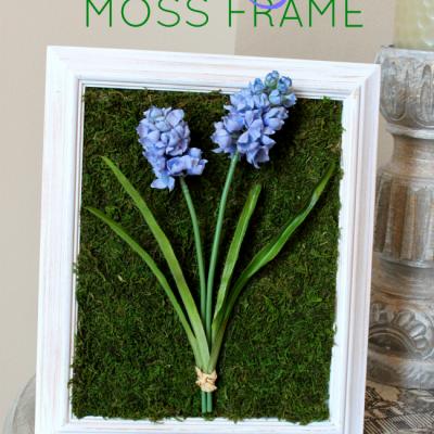 Spring Moss Craft Decor