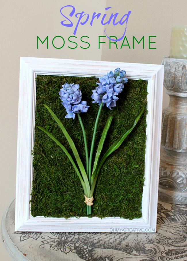 Spring Moss Frame  |  OHMY-CREATIVE.COM