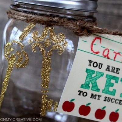 Teacher Appreciation Gift with Printable Tag