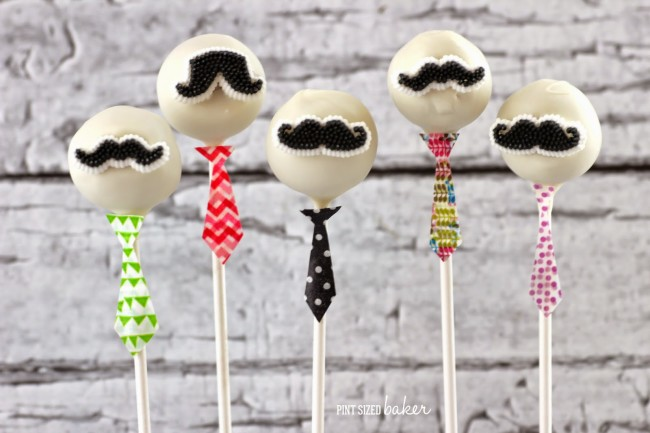 Father's day cake pops