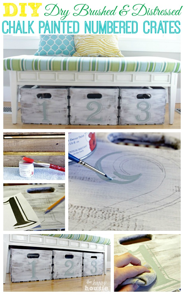 DIY-Dry-Brushed-and-Distressed-Chalk-Painted-Numbered-Crates-at-The-Happy-Housie