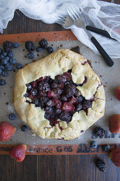 Out-of-the-Pan-Triple-Berry-Pie