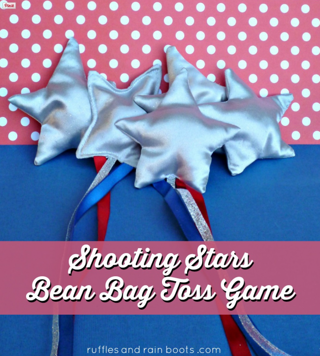 Shooting Starts Bean Bag Toss Game