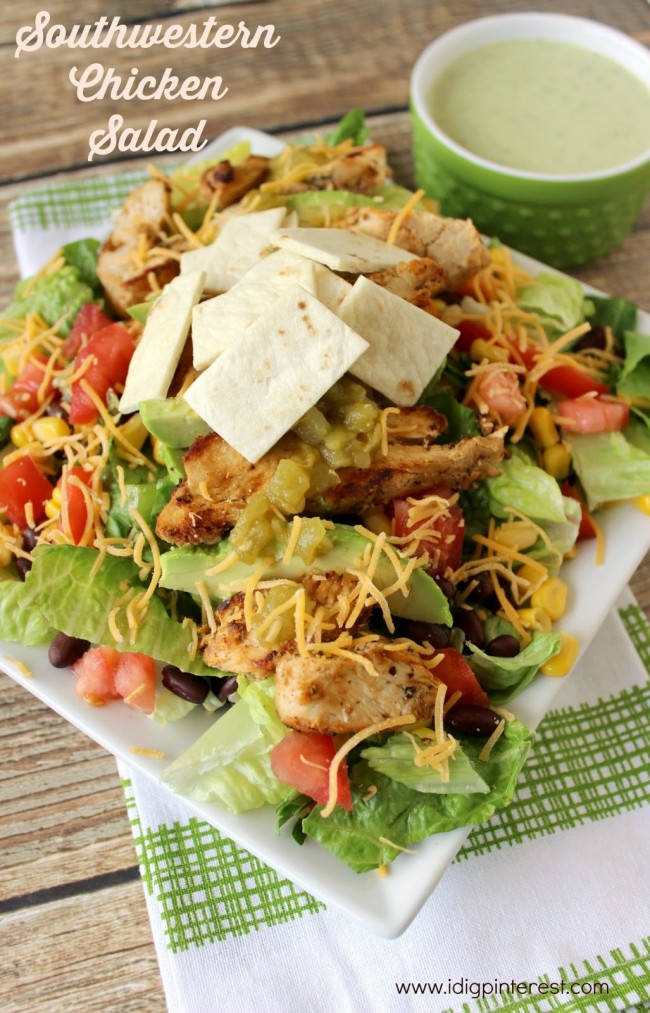 Chicken Salad With Avocado Dressing Recipe — Dishmaps