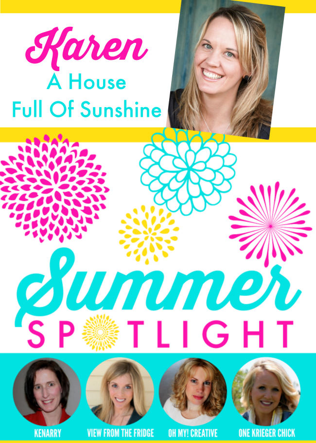 Summer Spotlight - A House Full of Sunshine