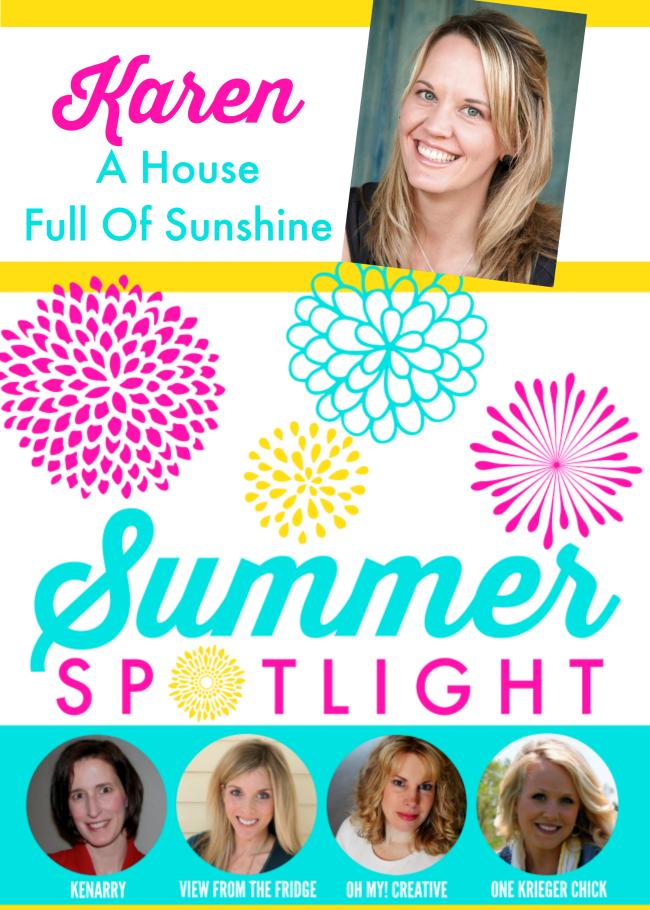 Summer Spotlight - A House Full of Sunshine
