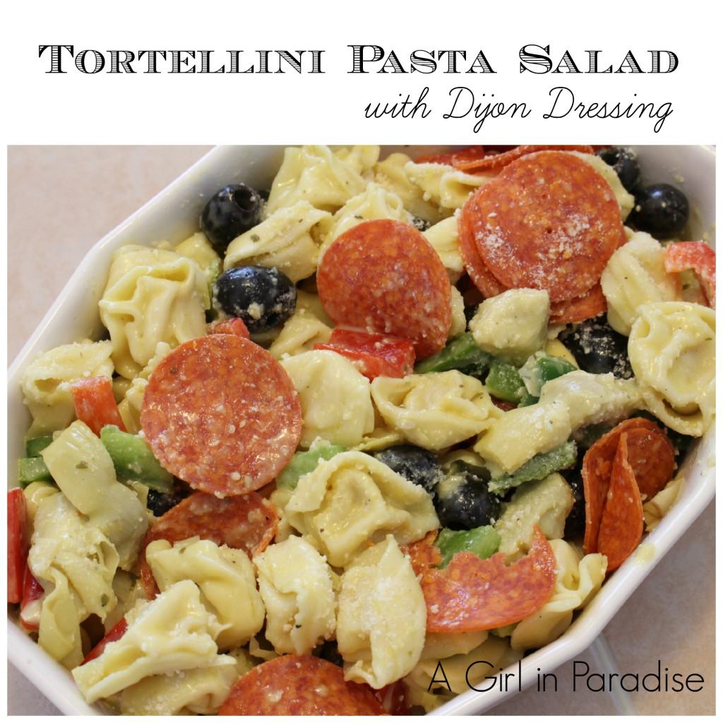 Tortellini-Pasta-Salad-with-Dijon-Dressing - Oh My Creative