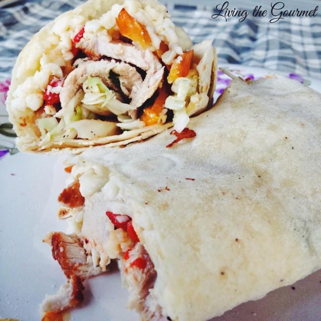 Living the Gourmet: Boneless Pork Wrap