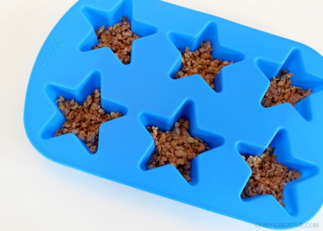Wilton Star Mold - Patriotic Frozen Yogurt Stars