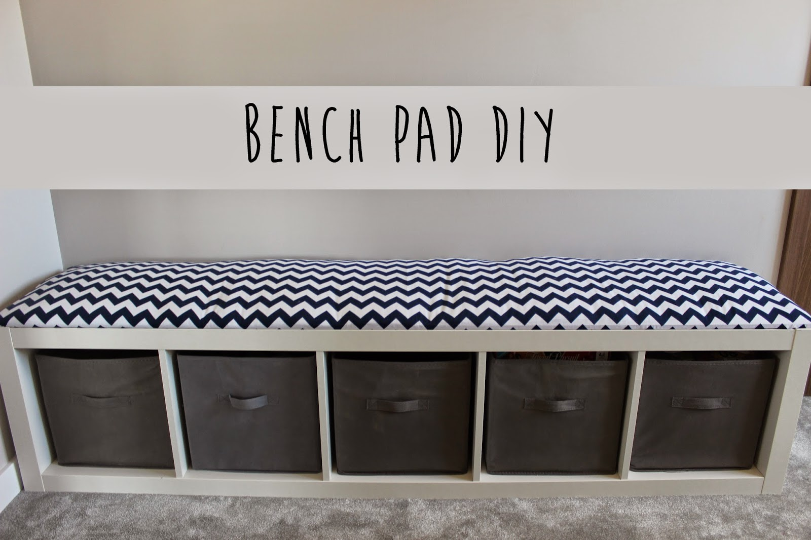 How to make a DIY Bench Cushion - Oh My Creative