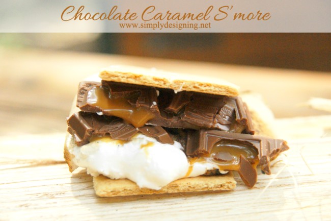 Caramel Chocolate S'more