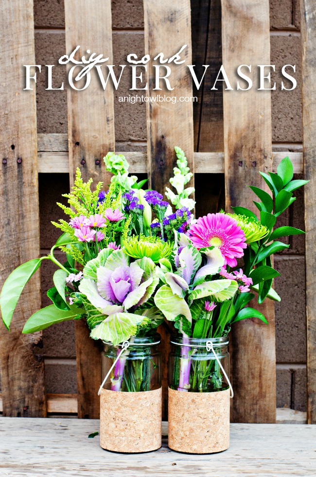 DIY-Cork-Flower-Vases