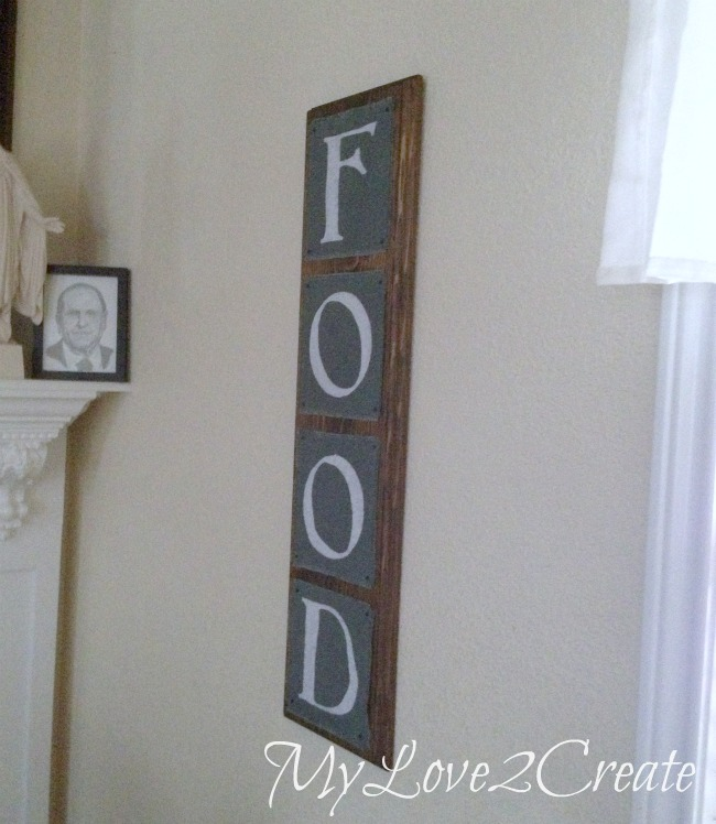 MyLove2Create, Easy Painted Burlap Sign