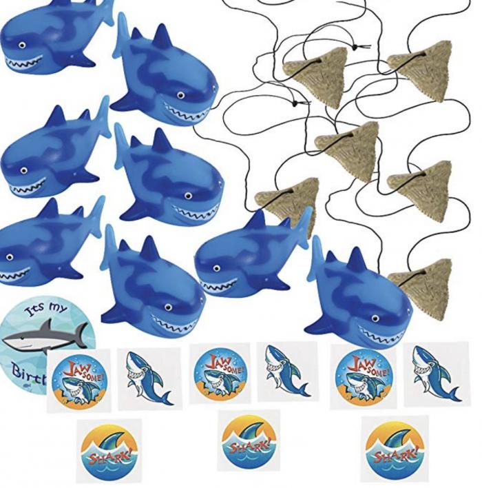 Small Shark Party Favor Ideas