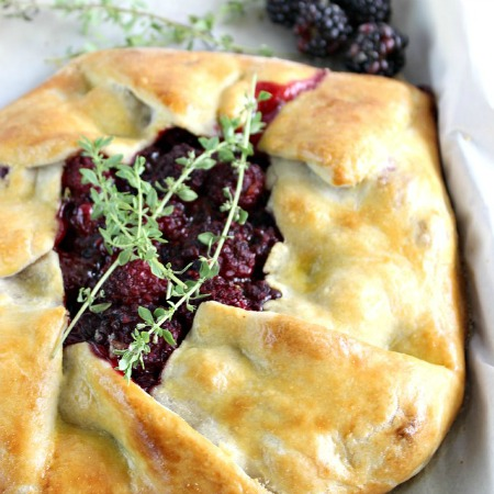 cover pic Blackberry Thyme Rustic Pie