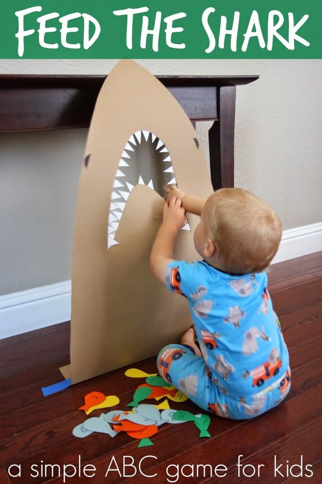feed the shark game ocean week