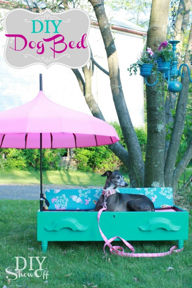 DIY-Parasol-Dresser-Drawer-Pet-Bed
