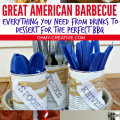 Great American Barbecue - Everything you need from drinks to dessert for the perfect BBQ | OHMY-CREATIVE.COM