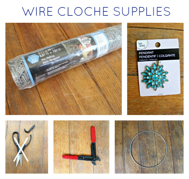 DIY Wire Cloche  |  View From The Fridge