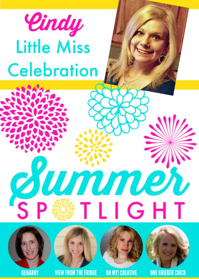 summer spotlight feature Cindy Little Miss Celebration