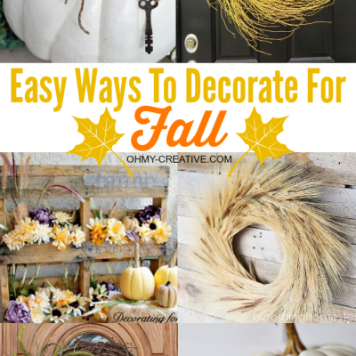 Easy DIY Fall Decor Ideas